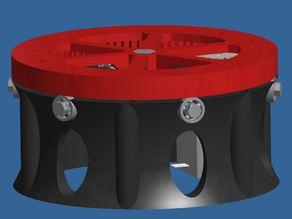 Printable Robot Arm - Rotary plate
