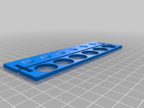 Flat Pack Test Tube Rack - single print