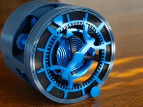 3D Tourbillon Clock Torque Modification