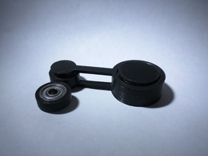 Double Pendulum Fidget Spinner