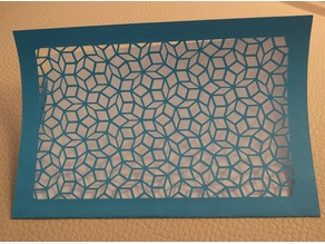 Penrose Tiling Greeting Card