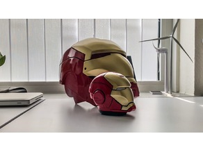 Iron Man Piggy bank with led