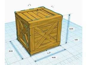 Ei9ht - Caisse en bois - Wood Box