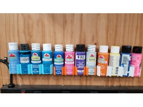 Acrylic paint holder