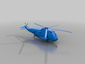 Sh3hnavy helicopter