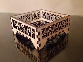 Voronoi Coaster Holder / Open Box