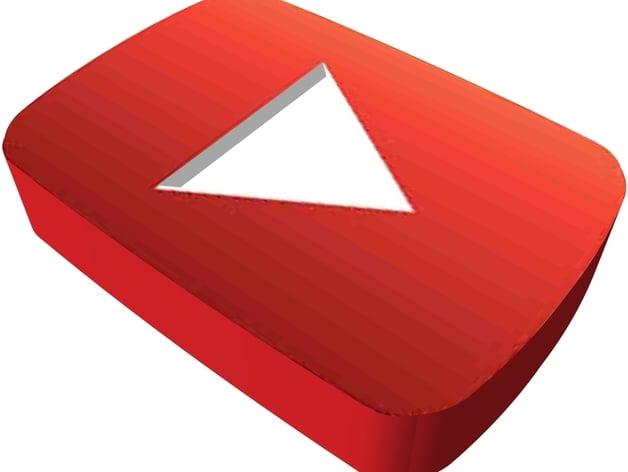 youtube logo by biludavis thingiverse
