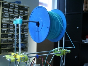 Spool holder for RepRap