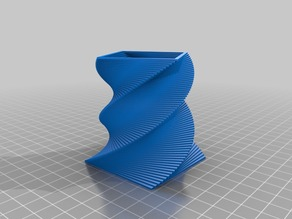 1st Customized Square Vase
