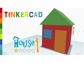 House 1 _Level 1 with Tinkercad