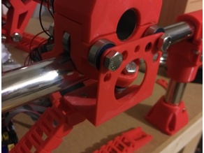 MPCNC cable chain roller mount