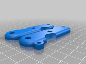 High resolution Swiss Army style Keyring V2 with thumbnail cutouts