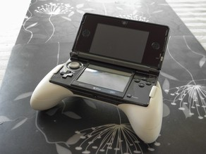 Ergonomic Grip For The Original 3DS v2
