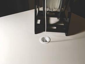 Ikea LACK filament guide 28mm