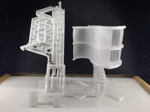 Wind Marble Machine
