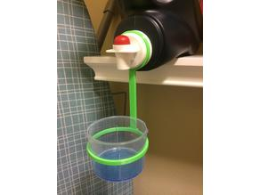Laundry Cup Holder For 4.43L (1.17 Gal) Cheer Detergent