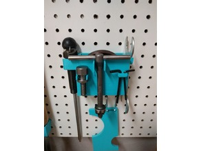 Lathe Accessories Pegboard Mount