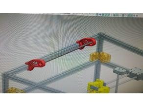 Cable Guide Legs for 3d printer Vulcanus Max