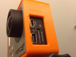 GoPro Hero 3+ black edition frame with clip