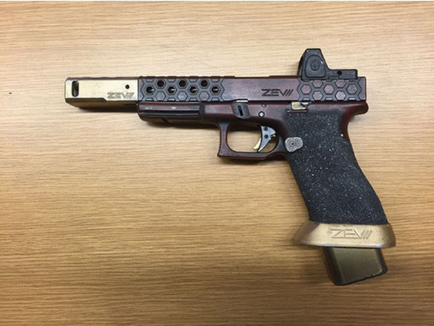 Deadshot Glock Race Gun Compensator by domywomy - Thingiverse