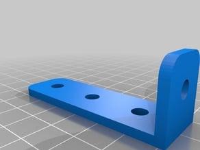 20 x 60 mm Right Angle Aluminum Extrusion Bracket