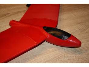 RC Flying Wing Fuselage for small Printers
