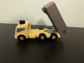 M.A.X. Truck - The Modular Toy Truck - Dump Truck Mission Accessory