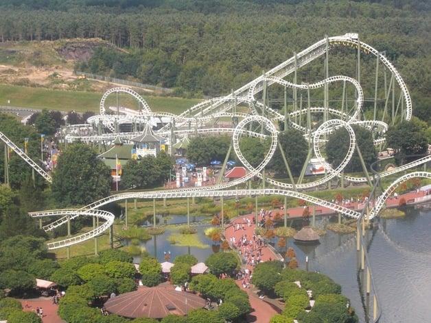 Big Loop At Heide Park Resort By Elisfkc Thingiverse