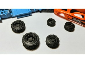 Gaslands - Wheel Upgrades
