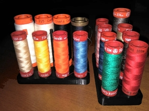 Sewing threads holder