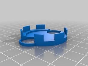 Customizable stirrer magnet holder