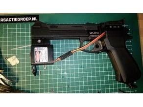 Laser Training Adapter for Baikal MP-651K CO2 Airgun - V0.1