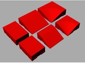 Modular gaming hills - more shapes