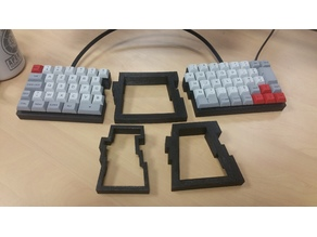 Split Mechanical Keyboard ISO 60%