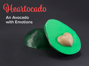 Heartocado - An Avocado With Emotions