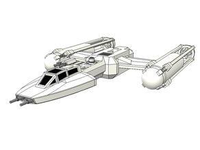 SW - BTL-A1 Y-Wing
