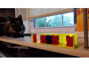 Cali Cat Holder With Supports
