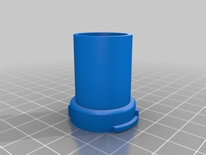 Crafty / Mighty 18mm female Adapter