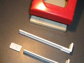 Paper size adjuster soennecken 5041 / papiermaatinstelding soennecken 5041 perforator