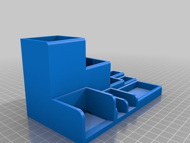 Sorting Box Desk Tidy By Wolfchild Thingiverse