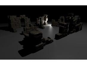 Free Ruins for Castle Kickstarter (only 2 walls)