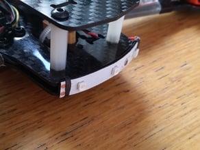 Minimal, lightweight ZMR250 LED bumper