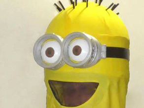 Full Size Minion Goggles for Halloween Costumes