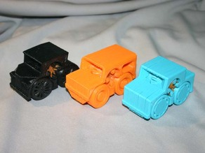 Rubber Band Powered Car Collection