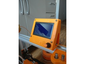 Case for 12864 graphic LCD on 3030 aluminium profile