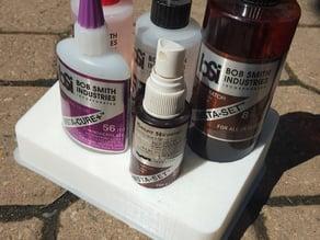 BSI glue and epoxy organiser