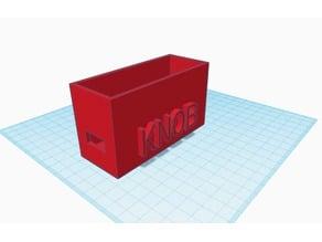 Feather Knob Enclosure - Box