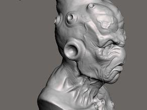 Majin buu DBZ sculpt