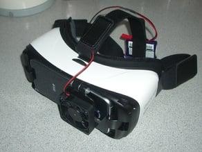 50mm fan holder for Gear VR