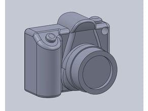 DSLR Camera Keychain